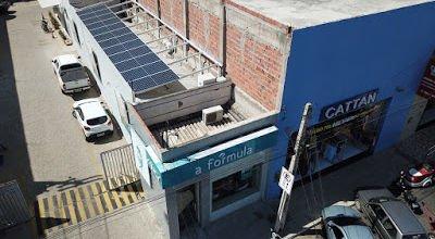 A unidade da A Fórmula em Salgueiro (PE) conta com sistema de fonte de energia solar
